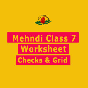 Mehendi Class 7 : Checks and Grid worksheet