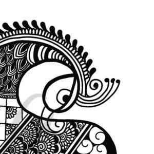 Mehendi Class 8 : Learn peacock
