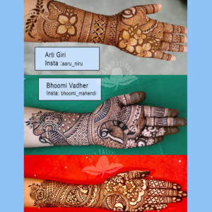 Mehendi competition 2020 digital book