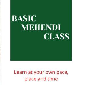 Online Basic Mehendi class
