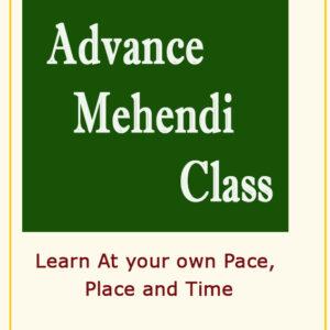 Online Advance  Mehendi class