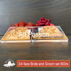 Tools – 3/4  face Bride and Groom Tool set