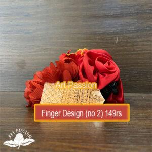 Tools – Finger design No 2